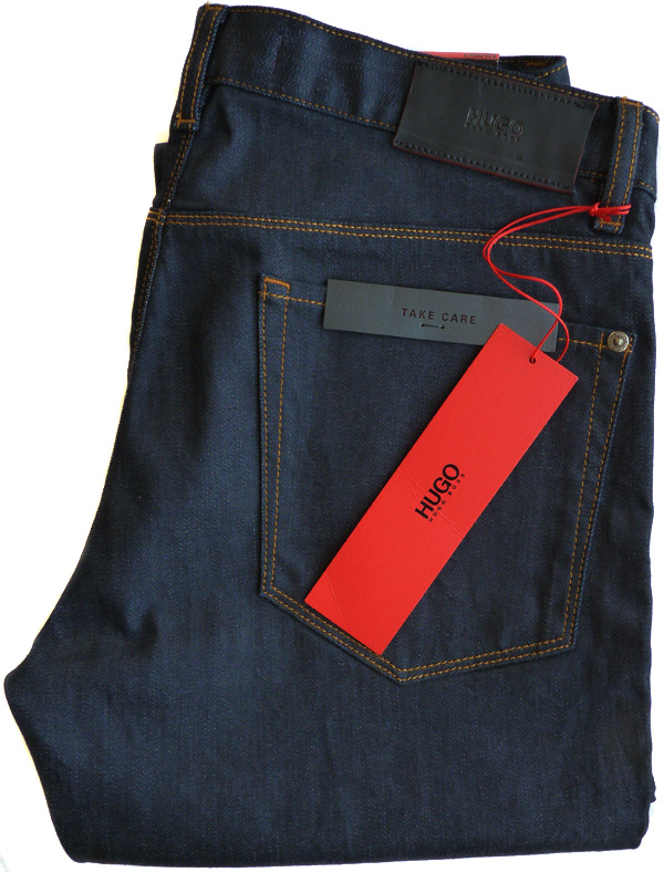 hugo boss stretch jeans w33 l34 hugo708 50309760 red label. Black Bedroom Furniture Sets. Home Design Ideas